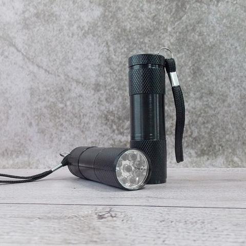 Уф фонарик UV Flashlight 9 LED 365 нм