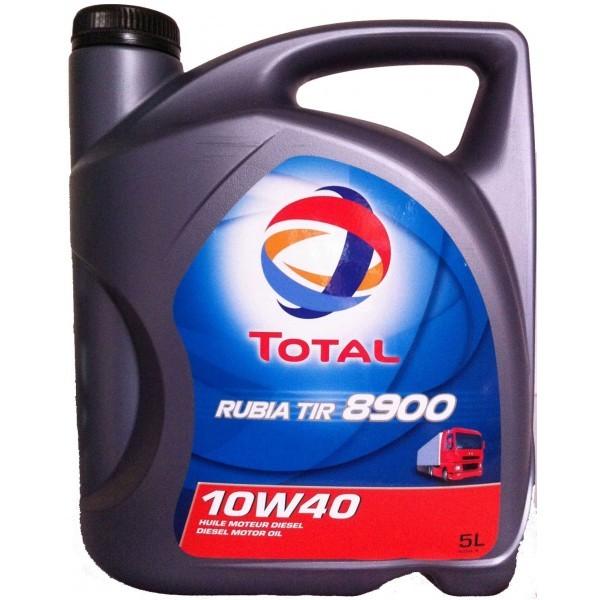 Total 8900 Rubia TIR 10W40 - Полусинтетическое моторное масло (5л)