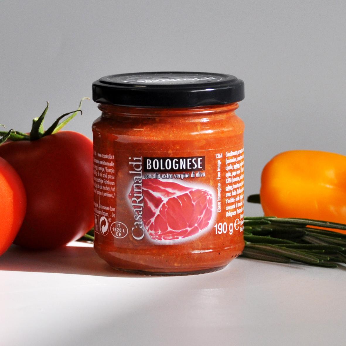 Соус Casa Rinaldi томатный Болоньезе 190г
