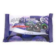 Juno Sangtumeori Peeling Soap Blueberry - Мыло с отшелушивающим эффектом с черникой