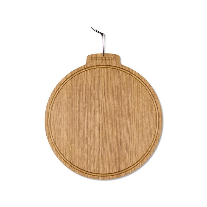 Доска разделочная Breakfast, круглая, Золотой дуб, арт. 550249 - фото 1
