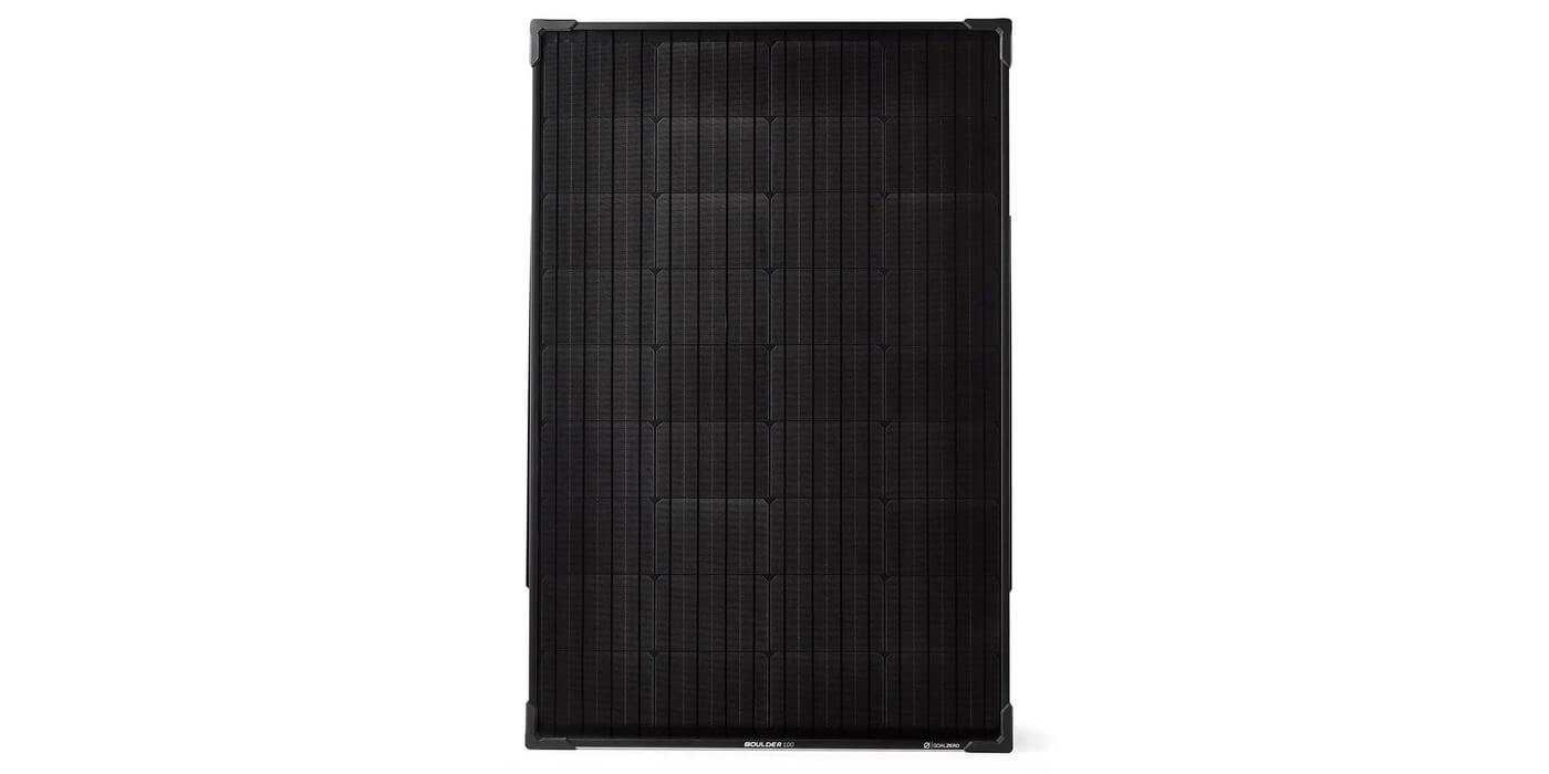 Солнечная панель Goal Zero Boulder 100 вид спереди