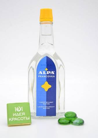 Alpa francovka 160 мл – спиртовый травяной раствор (широкий спектр действия)