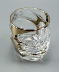 Набор из 6 стаканов для виски «Calipso», золото, фото 4