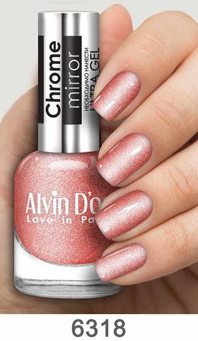 Alvin D`or Лак д/ногтей Chrome mirror тон 6318
