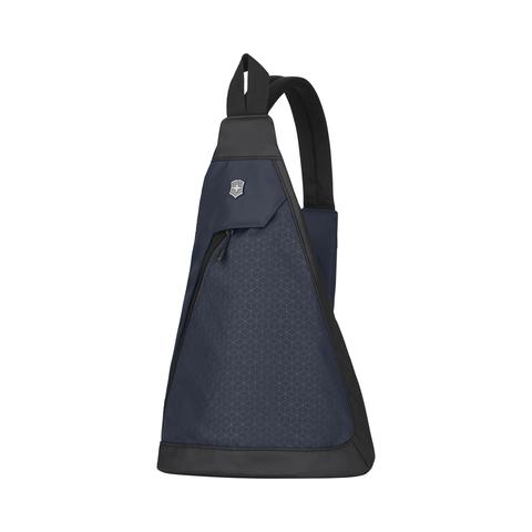 Рюкзак Victorinox Altmont Original, с одним плечевым ремнём, синий, 25x14x43 см, 7 л