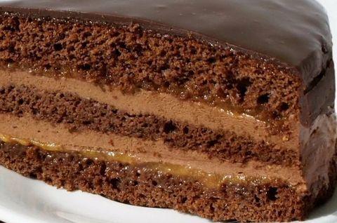 Торт Прага без глютена