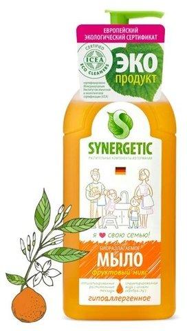 Synergetic жидкое мыло «Фруктовый микс»