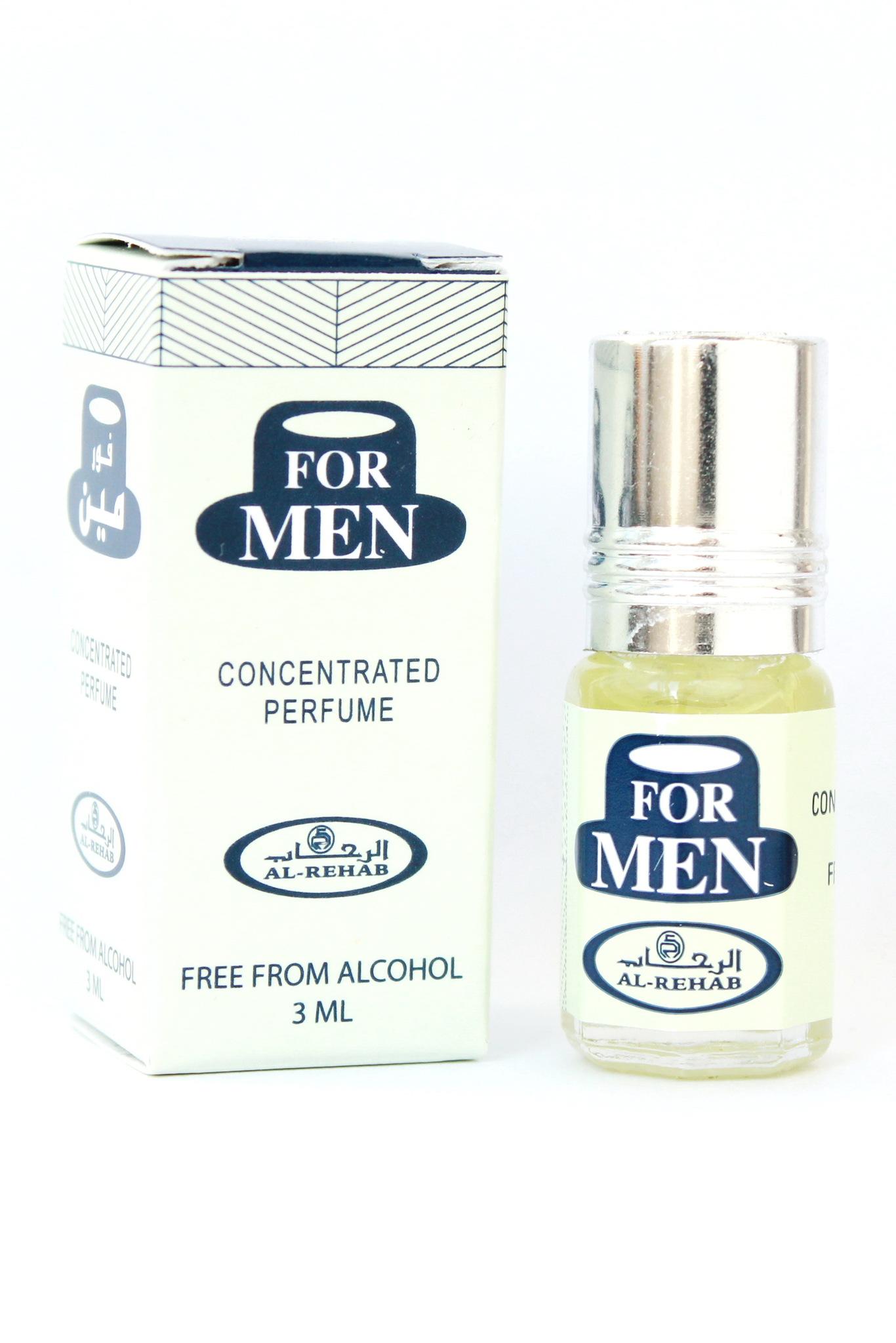 For Men Для Мужчин 3 мл арабские мужские масляные духи от Аль Рехаб Al Rehab