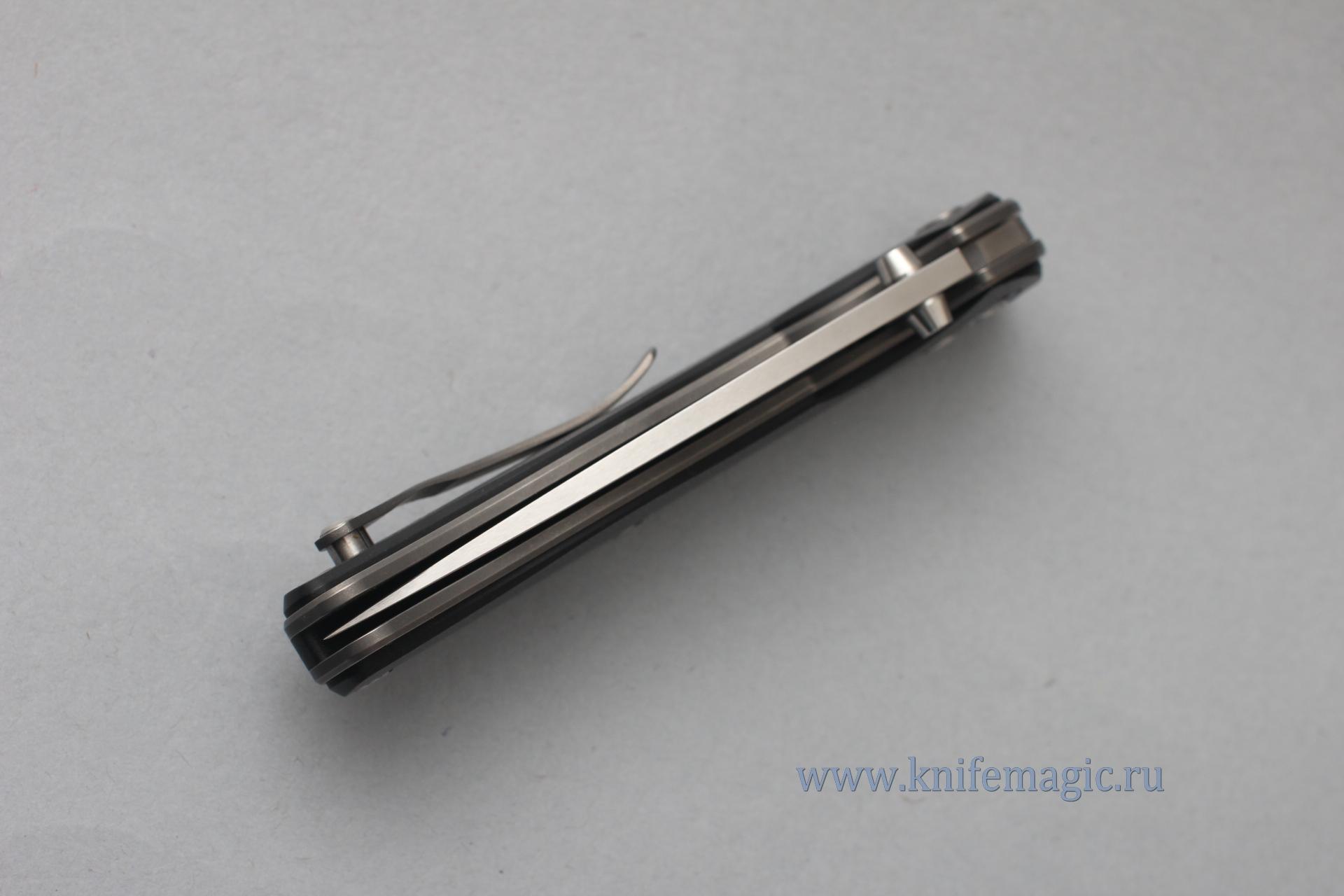 Нож Широгоров Табарган 100NS vanax 35 G10 черная - фотография