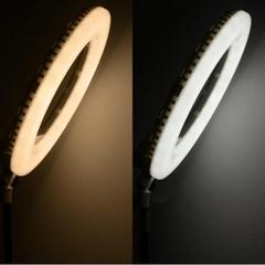 Теплота свечения кольцевой лампы mettle led 21 PRO MAX 52 см