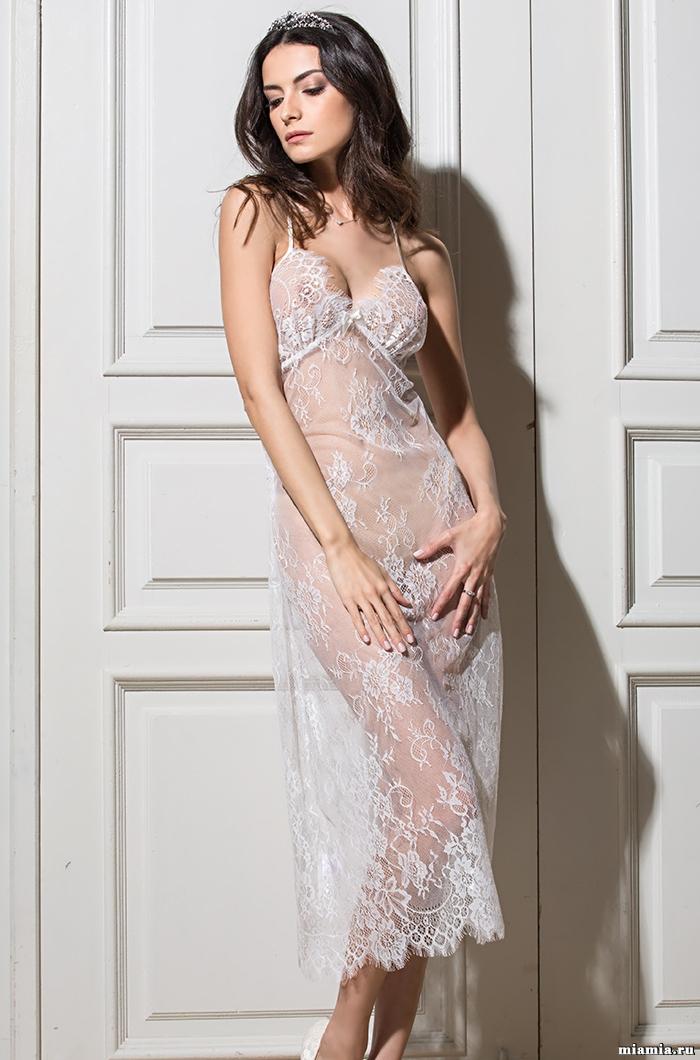 MIA-MIA (Италия) Сорочка женская из кружева MIA-AMORE Шанель  2034 2034_1.jpg