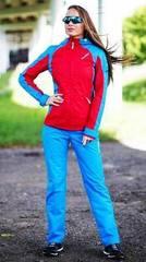 Женский Ветрозащитный спортивный костюм Nordski National Red