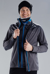 Элитный лыжный жилет Nordski Elite Grey