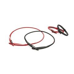 Ожерелье PHITEN EXTREME CROSS (черно-красный)
