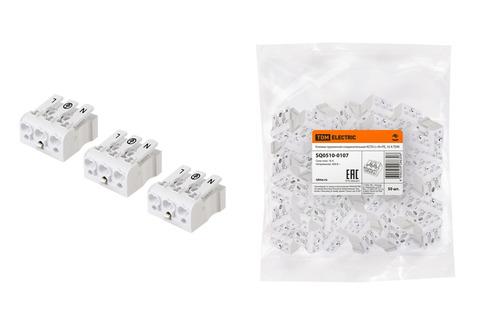 Клемма пружинная соединительная КСП3-L+N+PE, 16 A TDM