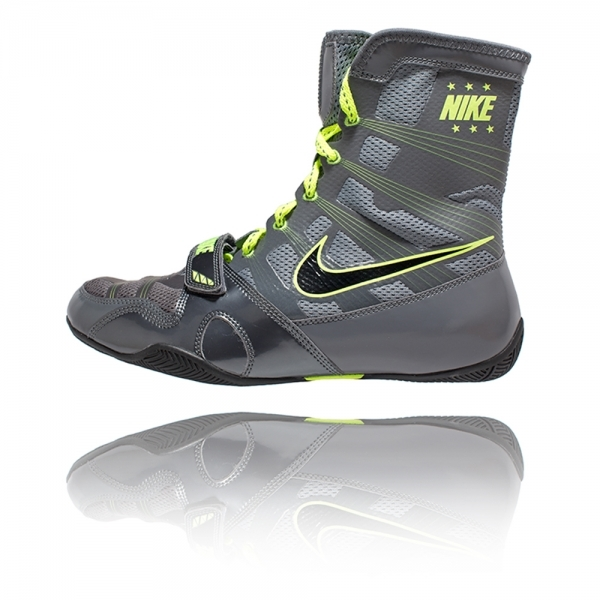 Боксерки Nike HyperKO  Grey/black/volt