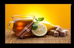 """Постер """"Чай с лимоном"""""""