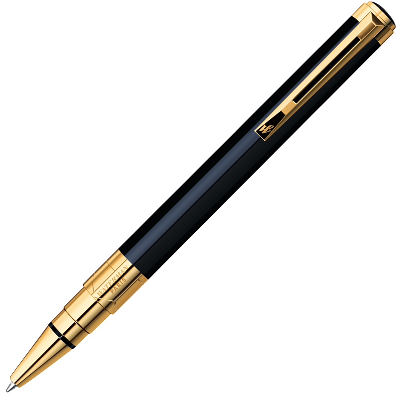 Waterman Perspective - Black GT, шариковая ручка, M