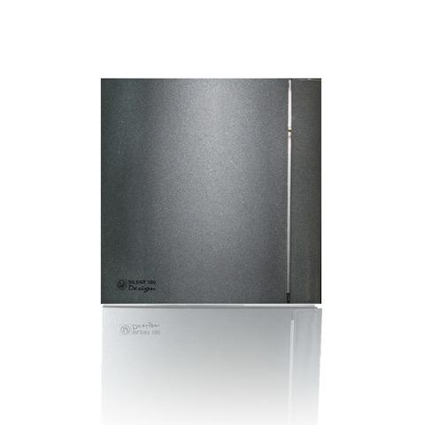 Накладной вентилятор Soler & Palau SILENT 100 CHZ DESIGN GREY (датчик влажности)