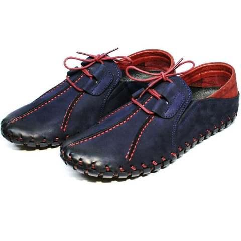 Туфли мужские кэжуал стиль Luciano Bellini 23406-00 LNBN.