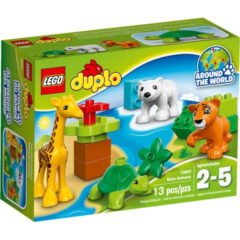 LEGO Duplo: Вокруг света: Малыши 10801 — Baby Animals — Лего Дупло
