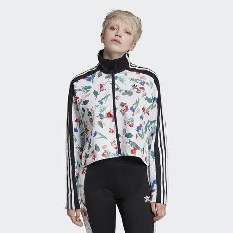Олимпийка женская adidas ORIGINALS ALLOVER PRINT