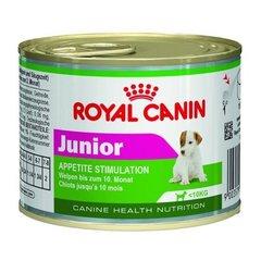 Royal Canin Junior мусс влажный корм для щенков до 10 месяцев и весом менее 10 кг Банка
