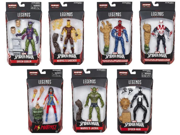 Марвел Легенд фигурки Человек паук Бесконечность серия 05 упаковка