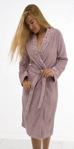 LAURETTE  ЛАУРЕТТЕ женский махровый халат Maison Dor Турция