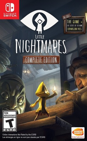 NS: Little Nightmares. Complete Edition (русские субтитры)
