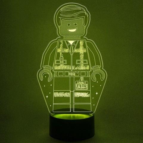 Lego Man - Лего светильник