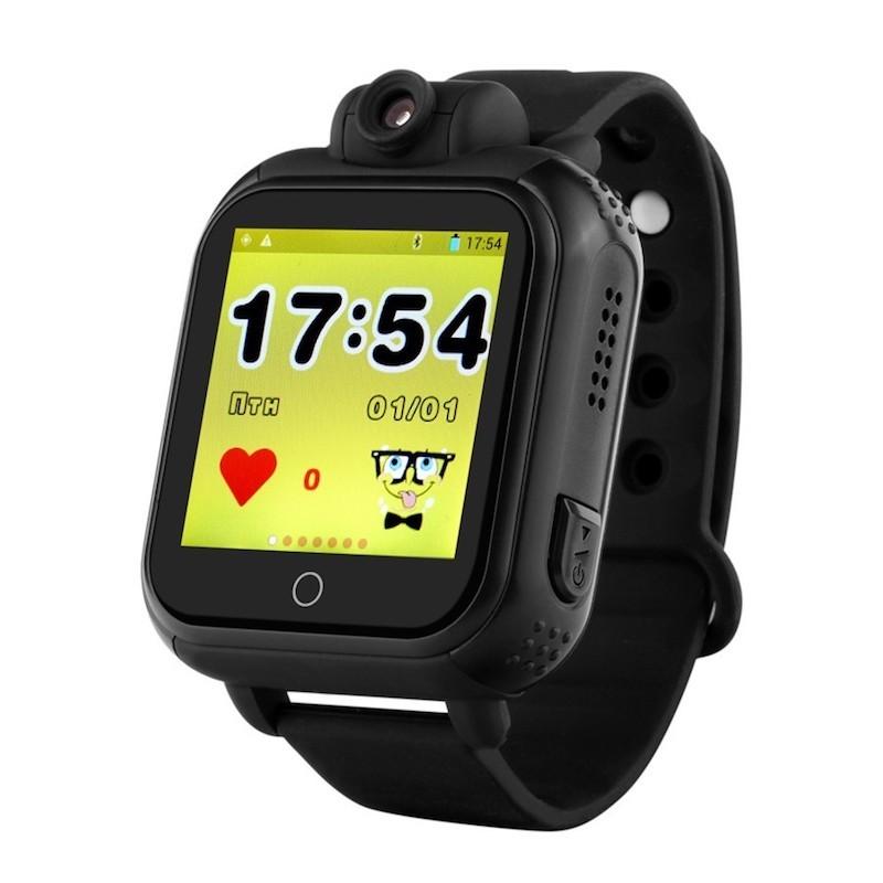 Чёрный вариант цвета Smart Baby Watch Q100/GW1000