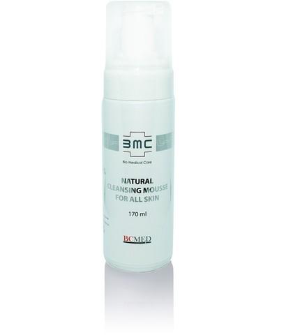 Пенка для умывания для всех типов кожи Natural Cleansing Mousse For All Skin, 170 мл