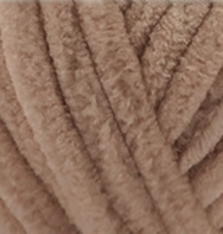 Velluto Alize 329 табачно-коричневый