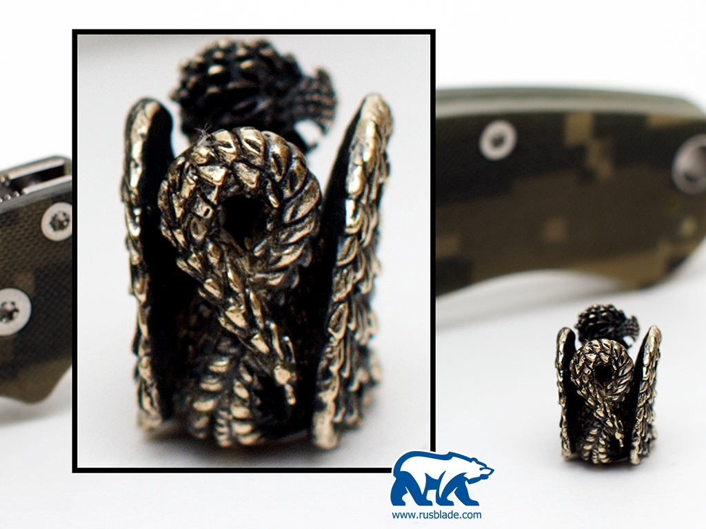 """Custom Sword Knot """"Griffin"""" Limited Edition"""