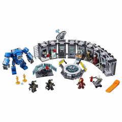 Конструктор LELE Avengegs Лаборатория Железного человека 34091 (Super Heroes 76125) 554 дет