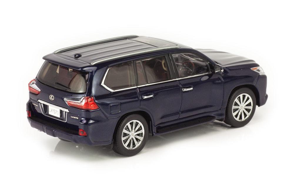 Коллекционная модель LEXUS LX570 2019 BLUE METALLIC