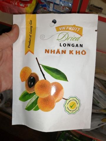 Лонган сушеный Vn Fruit - 100 гр.