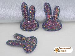 Мягкий декор Зайки конфетные сапфировые