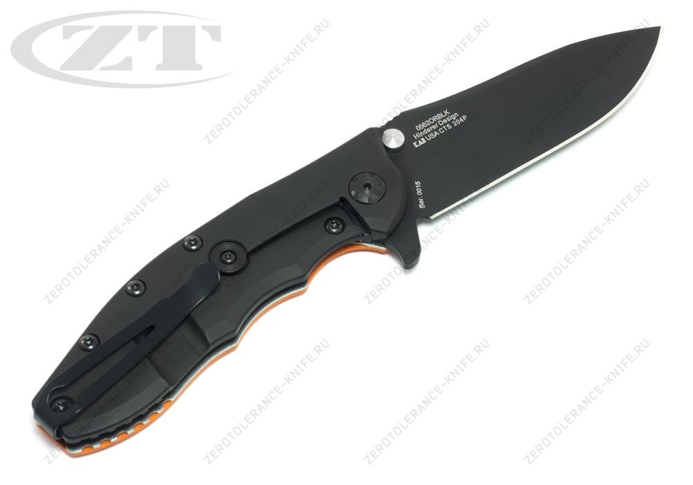 Нож Zero Tolerance 0562ORBLK Hinderer - фотография