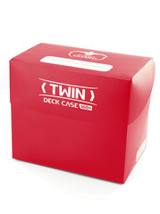 Twin Deck Case 160+ Standard Size Red