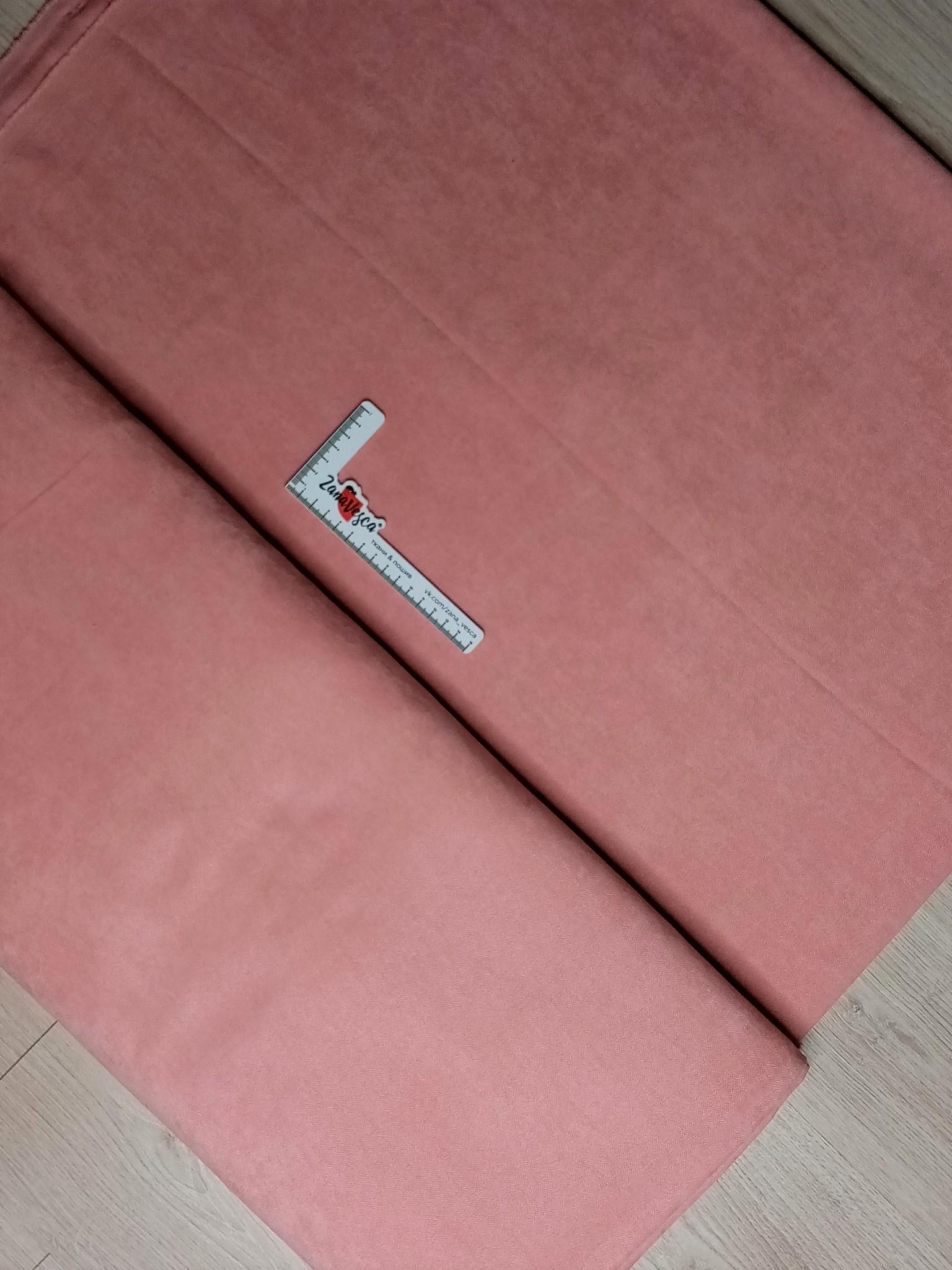 Канвас-велюр AR01403-213 пыльный розовый