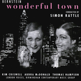 Birmingham Contemporary Music Group, Simon Rattle / Bernstein: Wonderful Town (CD)