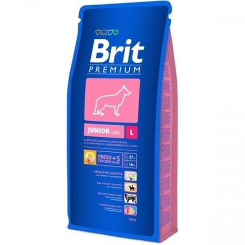 BRIT JUNIOR L 15 кг