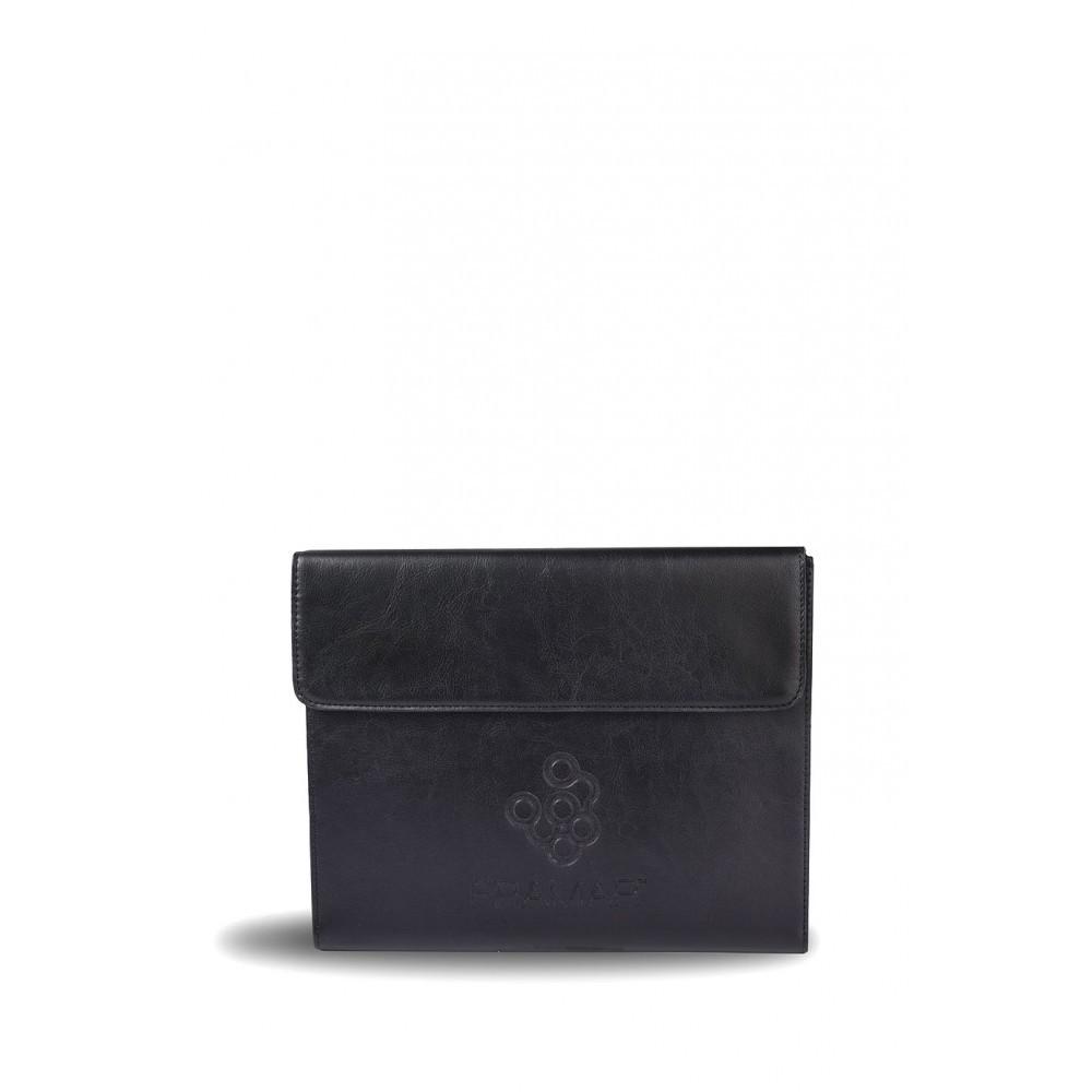 Color Brush Kit (leather) | Набор черных кистей Framar в чехле