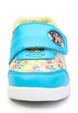 Кроссовки Минни Маус (Minnie Mouse) на липучке для девочек, цвет голубой белый. Изображение 5 из 8.