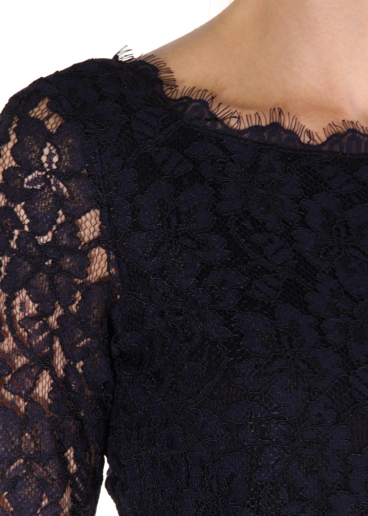 Платье из кружева DIANE VON FURSTENBERG