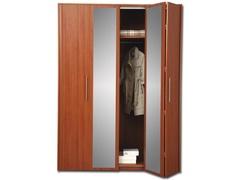 Шкаф-гармошка с зеркалом.