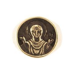Богородица Знамение Оранта перстень